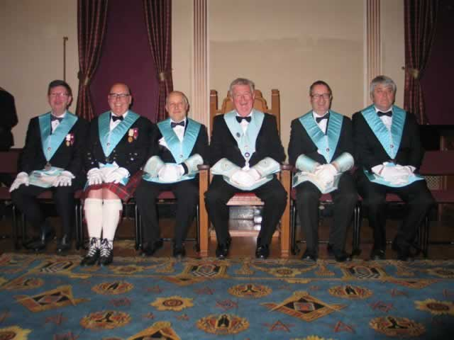 WM and Officers of HVL 652