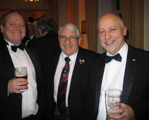Newly Installed WM Steve Sandford (Right) With Guests