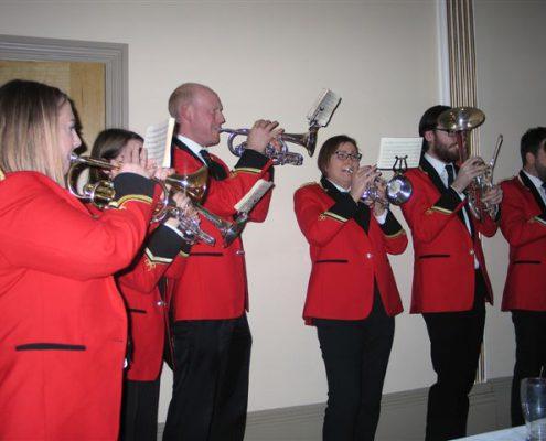 Hade Edge Brass Band Providing Entertainmen