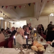 74 guests attended our Burns Supper in the lodge rooms.