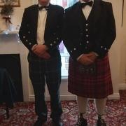 The Laird and Bro. David Mackenzie